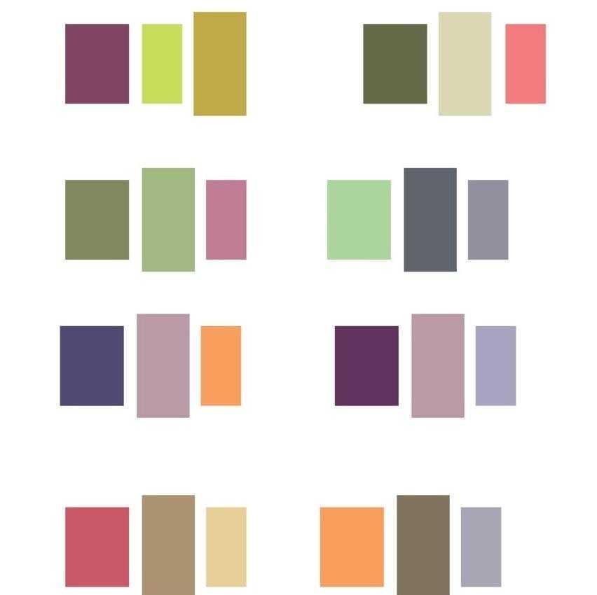 Как правильно сочетать цвета
