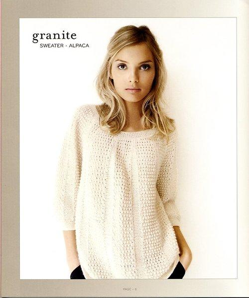 Нежный пуловер из альпаки