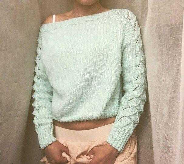 Очень красивая и модная модель свитера