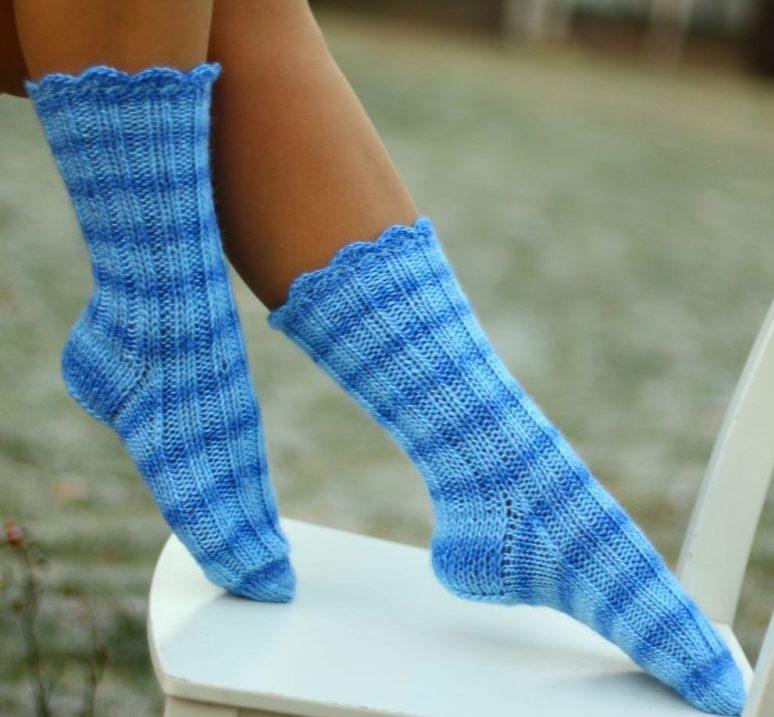 Важные правила вязания носков