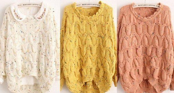 Вяжем красивейший пуловер
