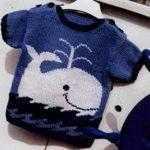 Идеи узоров для детских свитеров