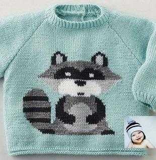 пуловер с енотиком