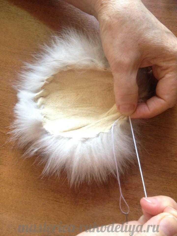 помпон для шапки из меха