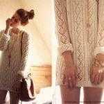 Узор для летнего легкого пуловера иди туники
