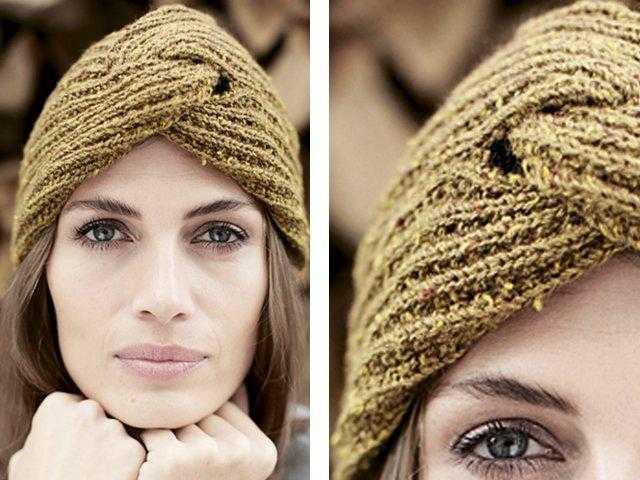 Осень. Пора вязать шапку.