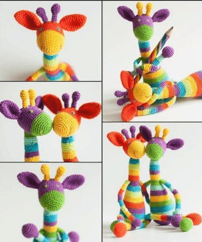 Радужные Жирафики
