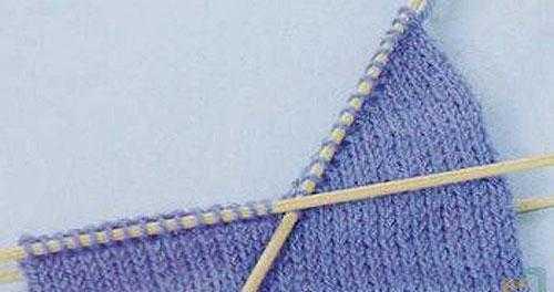 Немецкий способ вязания пятки «бумеранг»