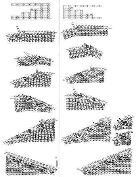 Укороченные ряды спицами без дырок
