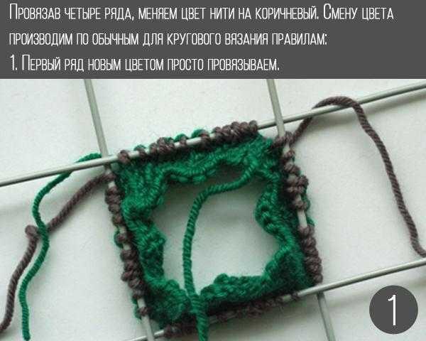 Учимся вязать «Эстонскую спираль» спицами