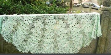 Схемы к палантину «Порхающие бабочки»