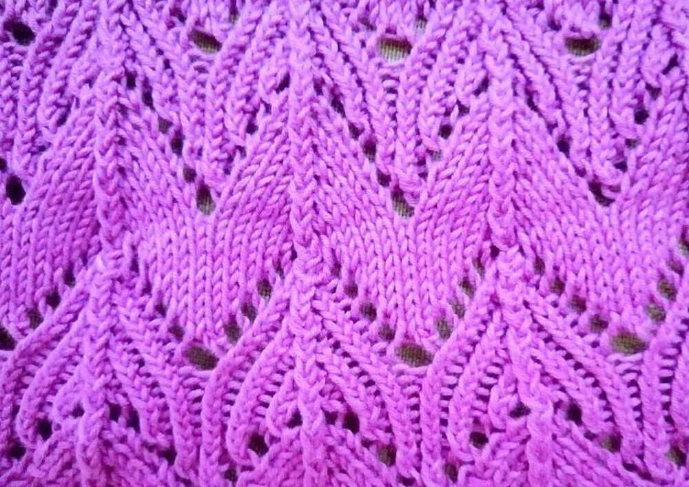 Вязание платья по кругу красивым узором