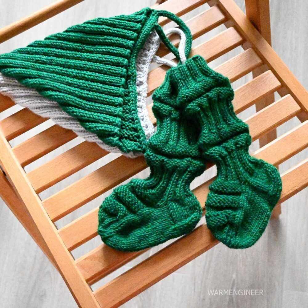 Детские финские носочки спицами. Описание