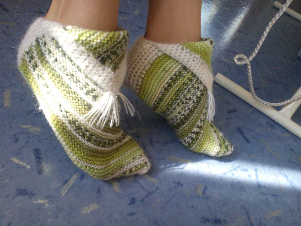 Носки без пятки и заморочек за час