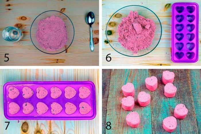 рецепт бомбочек для ванны