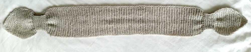 """Длина повязки между """"кармашками"""" = объем головы."""