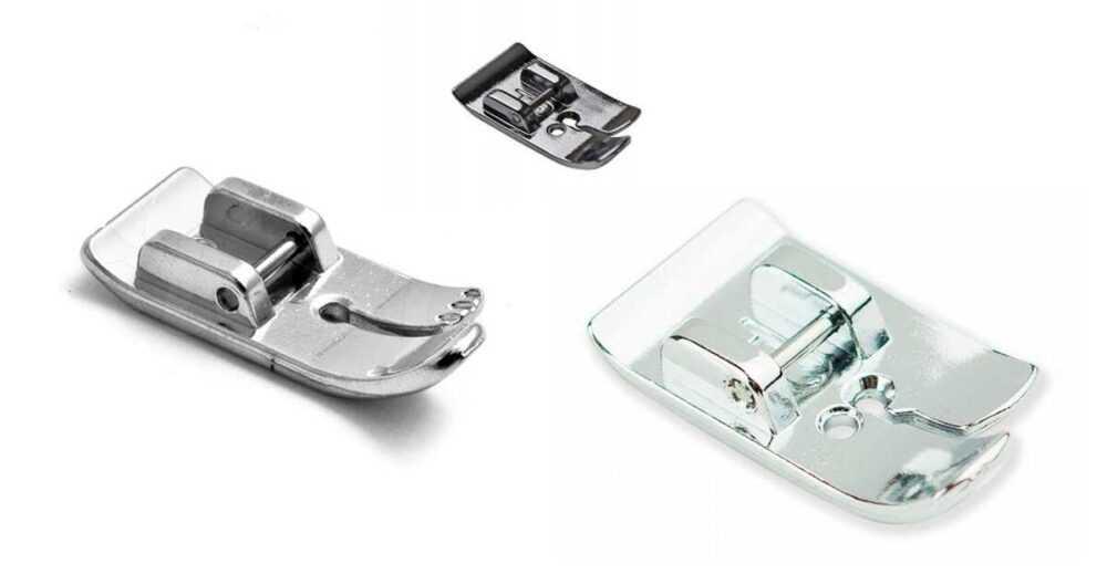 Базовый набор лапок для бытовой швейной машины в помощь начинающей мастерице