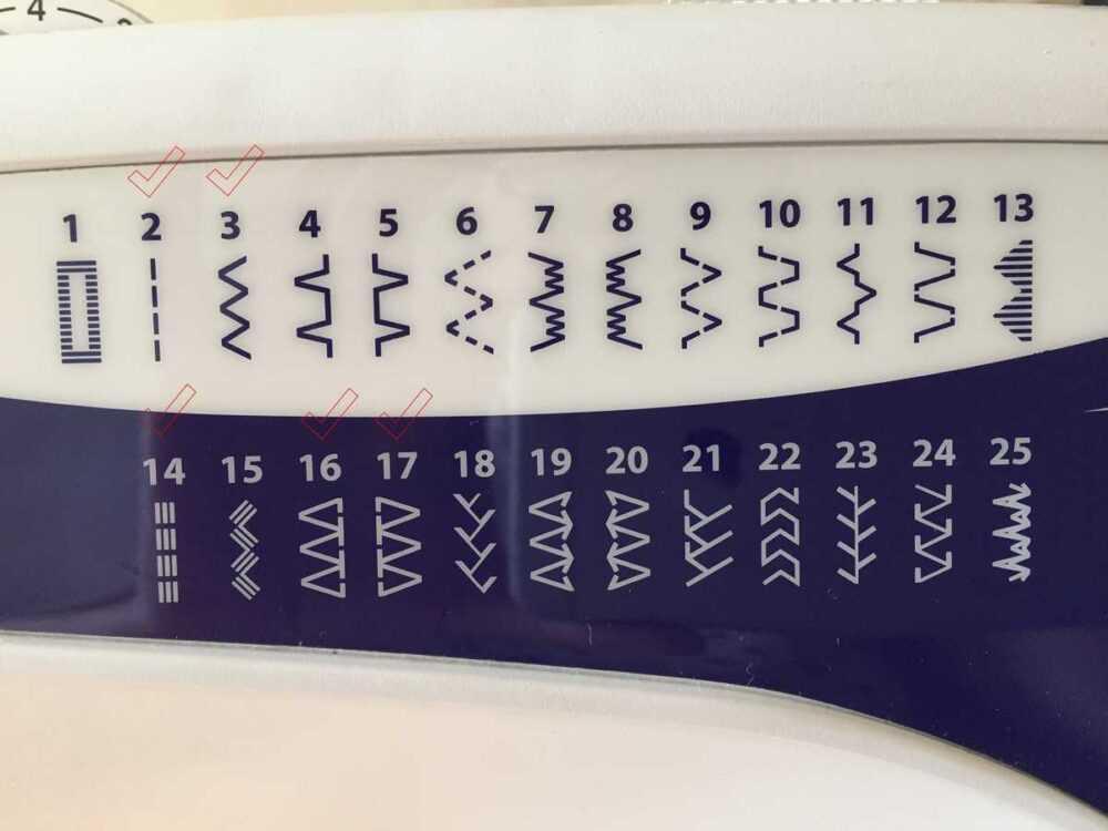 Строчки для пошива трикотажа, швейная машина brother HQ-33