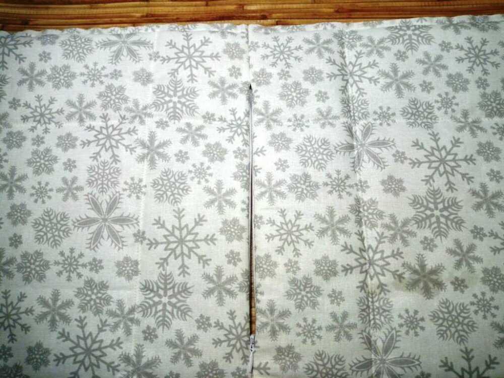 Как сшить декоративную подушку на синтепоне с застежкой