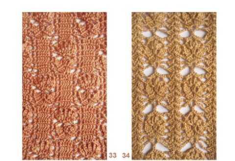 Подборка красивых узоров для вязания крючком