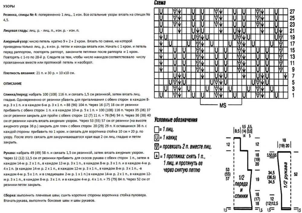 Описание, схема узора и выкройка к Лимончику №4. Нажмите на изображение, чтобы увеличить текст ☺