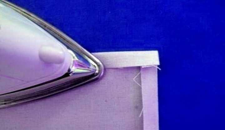 обработка уголков при шитье