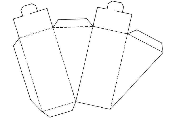 схема для поделки