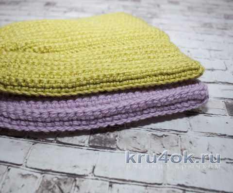 шапочка из пряжи пехорка зимний вариант