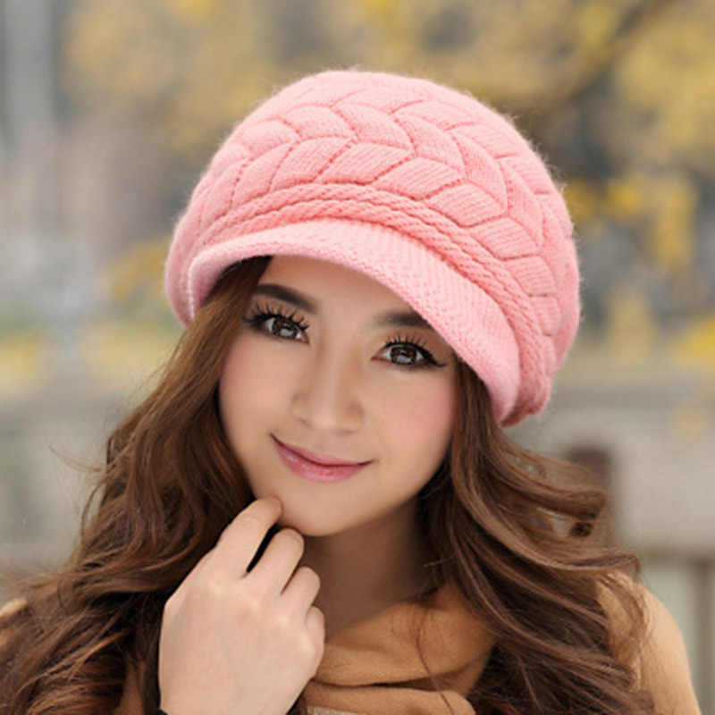 шапка круглое лицо